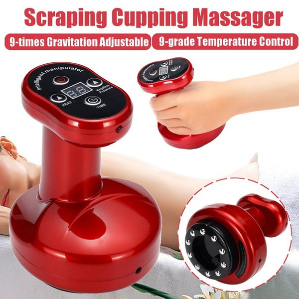 scrapingmassagerbody, cupping, electricbodymassager, Electric