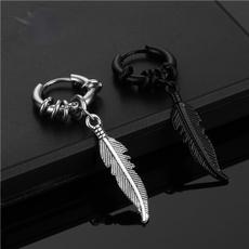 Hip-hop Style, Steel, Hoop Earring, Jewelry