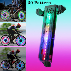Steel, bicycleequipment, led, Outdoor Sports