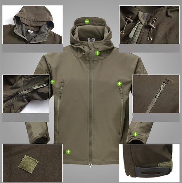 Fleece, waterproofjacket, Winter, Waterproof