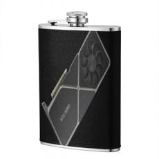 stainlesssteelbottle, rtx3080patternflagon8oz, whiskeyflagon, gothichipflask