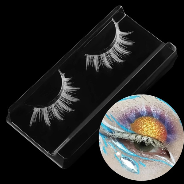 False Eyelashes, Fiber, Cosplay, Beauty