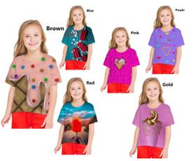 Summer, Shorts, Shirt, Colorful