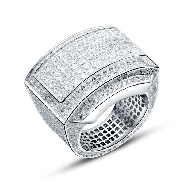 party, DIAMOND, Jewelry, Silver Ring