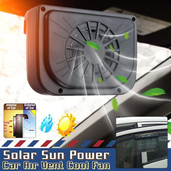 Solar, solarcoolingfan, Cars, autofan