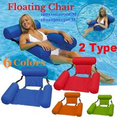 pool, Summer, loungerchair, waterfloatingchair