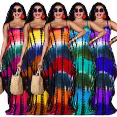 Plus Size, long dress, Dress, Loose