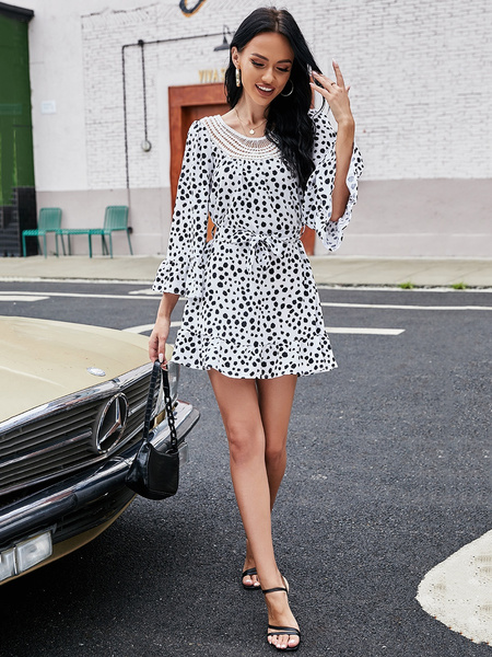 Fashion, Office, Dress, Floral
