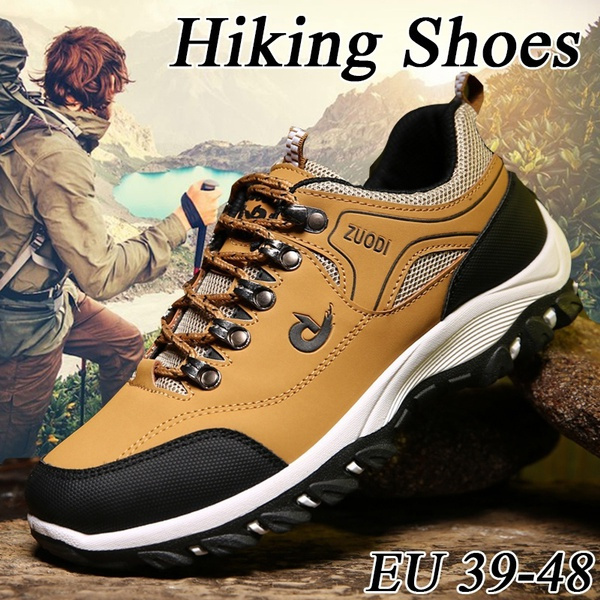 Hiking, hiking shoes, leather shoes, camping