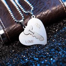 Steel, Heart, couplejewelry, Jewelry