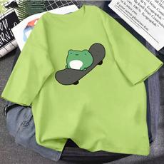 cute, Fashion, Shirt, skateboardfrogprint