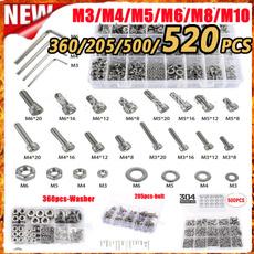Steel, Jewelry, brassscrew, Stainless Steel