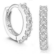 Hoop Earring, Jewelry, americanretro, Engagement
