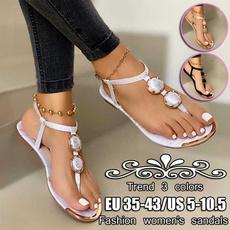 Summer, Flip Flops, Sandals, flipthong