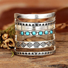 Sterling, Turquoise, 925 sterling silver, wedding ring
