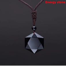 crystal pendant, 7chakrapendant, Star, Jewelry