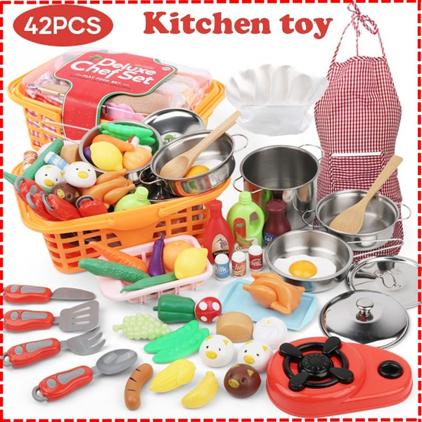 kitchenset, Toy, house, Cooking