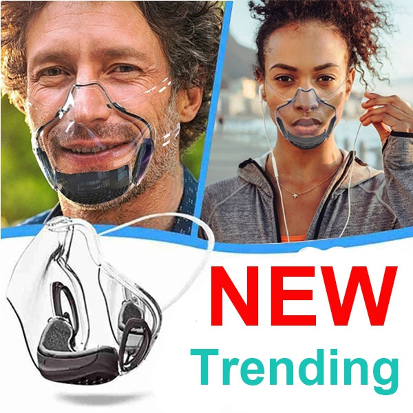 transparentmask, antifogmask, protectiveshield, faceshield