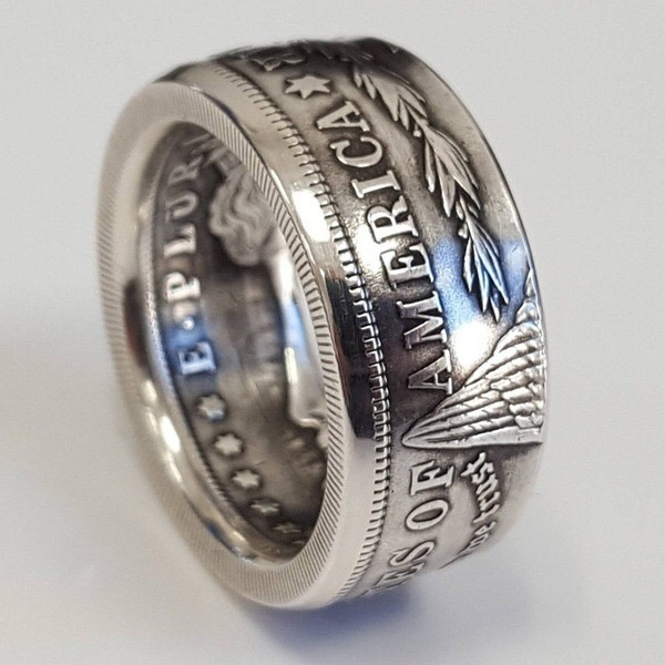 ringsformen, Jewelry, Silver Ring, coinring
