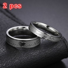 Couple Rings, Fashion Jewelry, Engagement, Love