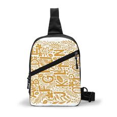 Outdoor, Hiking, chestpack, Yellow