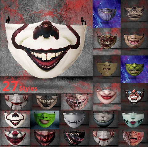 Funny, Fashion, jocker, Masks