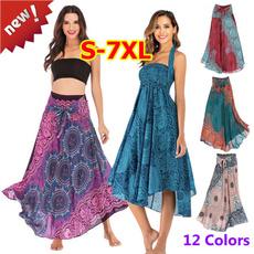 long skirt, summer skirt, hippie, bohemianskirt