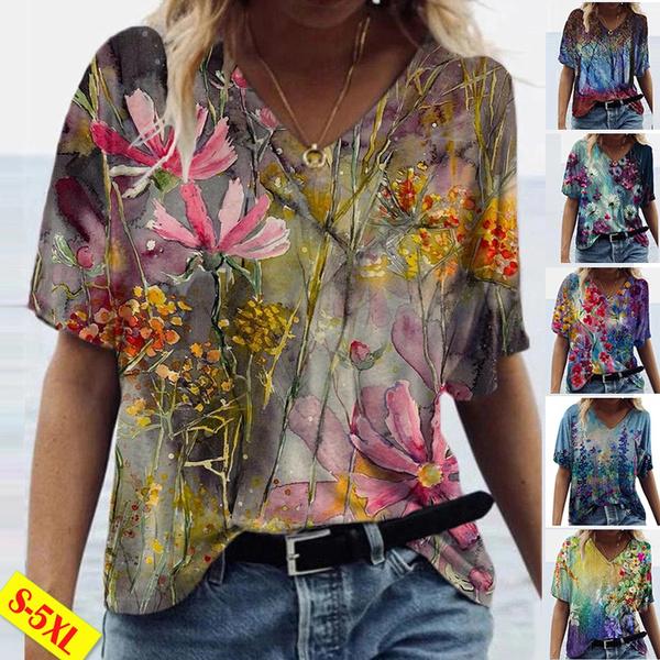 Summer, Plus Size, shirtforwomen, Shirt