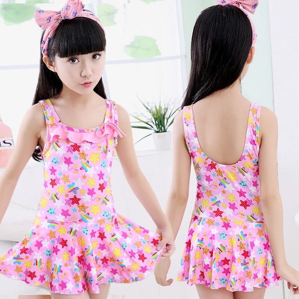 bathing suit, girlsonepieceswimsuitsskirtsuit, Spring, Dress