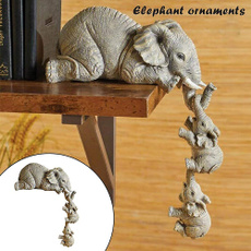 homedecoretion, Gifts, elephantstatuegold, Home & Living