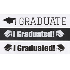 photoboothprop, School, graduationpartydecoration, unisexsatinsash