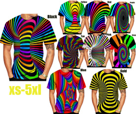 rainbow, Fashion, hypnotictshirt, Shirt