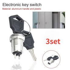 Zinc, Electronic, button, powerlock