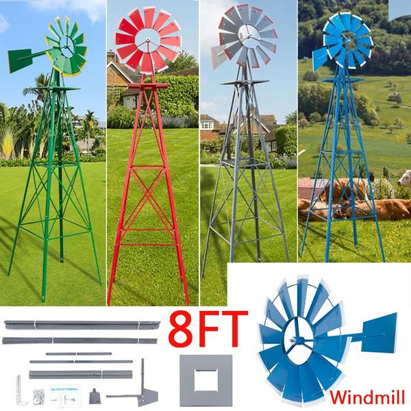 windmill, decoration, outdoorwindmill, yardwindmill