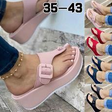 wedge, Plus Size, thickheelsandal, summer shoes