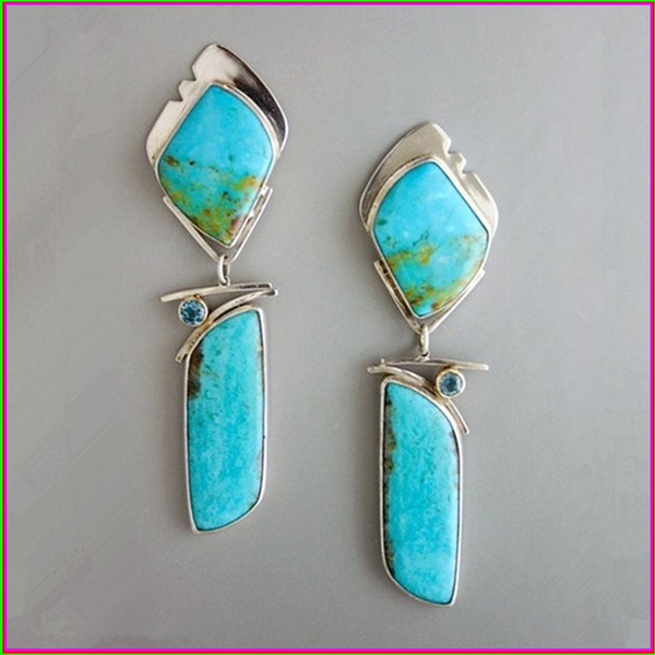 Sterling, party, Turquoise, DIAMOND