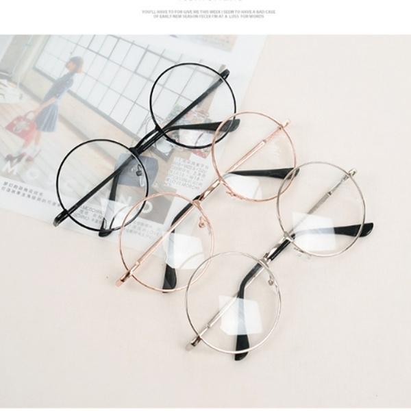 Vintage, eye, fashionwomenglasse, roundgla