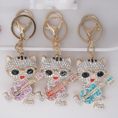 cute, DIAMOND, Key Chain, koreanversion