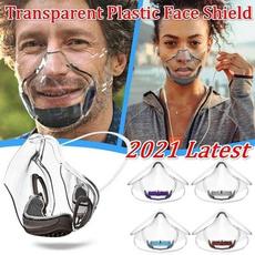 Plastic, pcmask, transparentprotectivemask, splashproofisolationmask
