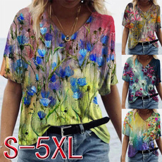 blouse, Plus Size, tops shirts for women, Sleeve