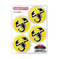 giallo, scorpione, Autos, Stickers