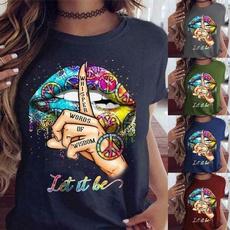 Fashion, Love, Graphic T-Shirt, Colorful