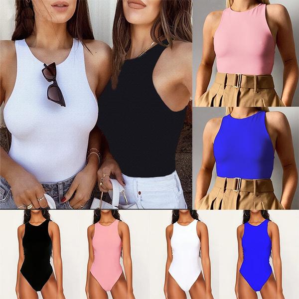 leotard, bodycon jumpsuits, Vest, Fashion