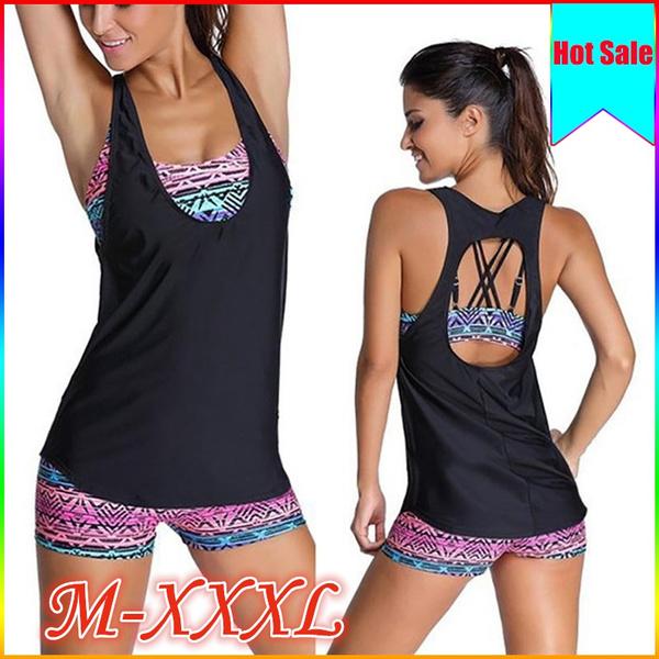 bathing suit, Vest, Plus Size, beachsuit