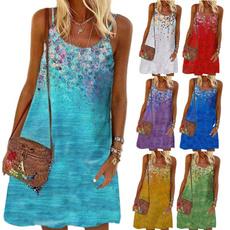 Summer, Vest, Fashion, vest dress