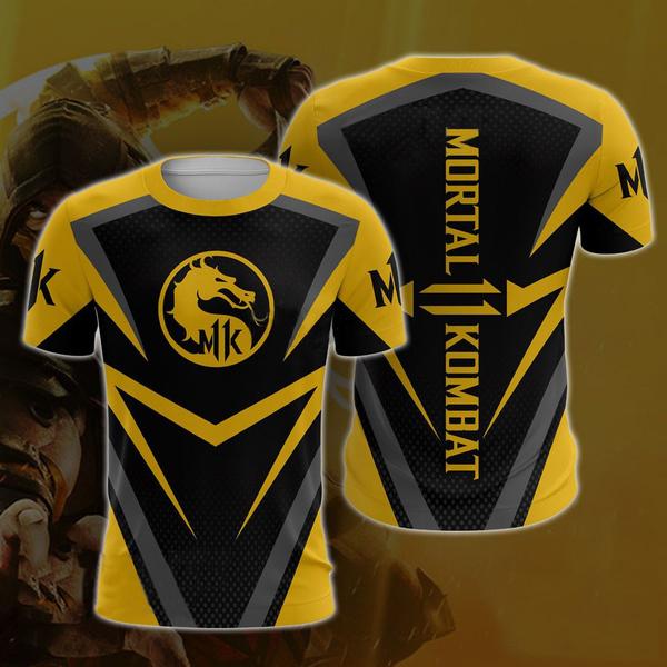 mortalkombat11, Fashion, Tops, short sleeves