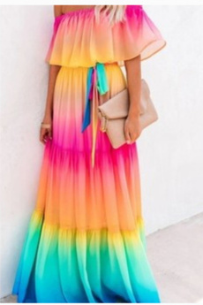Summer, Floral print, boho, sundress