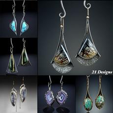 Sterling, bohemia, Engagement, Dangle Earring