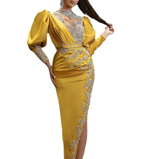 gowns, eveingdres, Plus Size, Sleeve