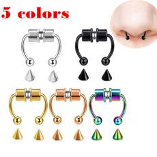 Jewelry, noseringsstud, hoopjewelry, piercing
